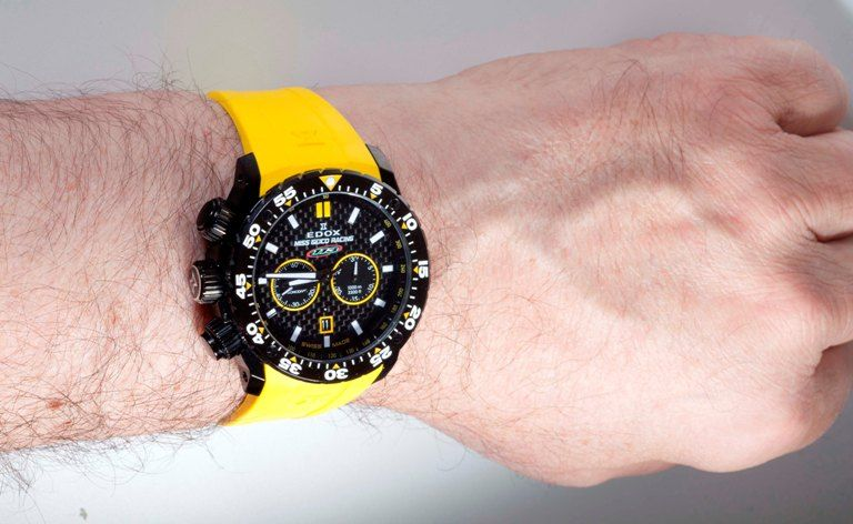 Edox Miss Geico Limited Edition Chronograph Wrist Shot