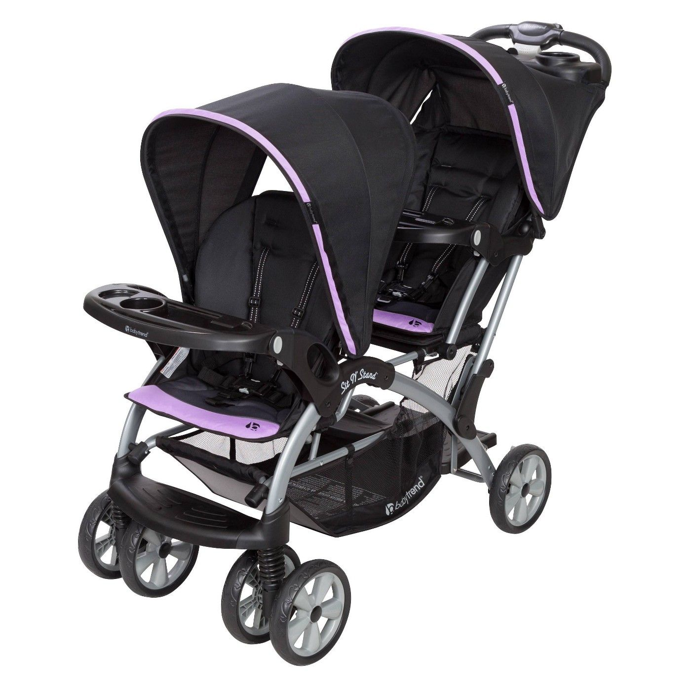 Baby Trend Sit N' Stand Double Stroller Affiliate Sit,