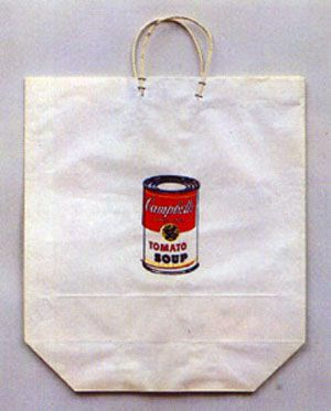 Warhol Andy 1964 Campbell S Soup Can On Shopping Bag Silkscreen Print On Paper Bag 19 X 17 Editi Original Paintings For Sale Print On Paper Bags Prints