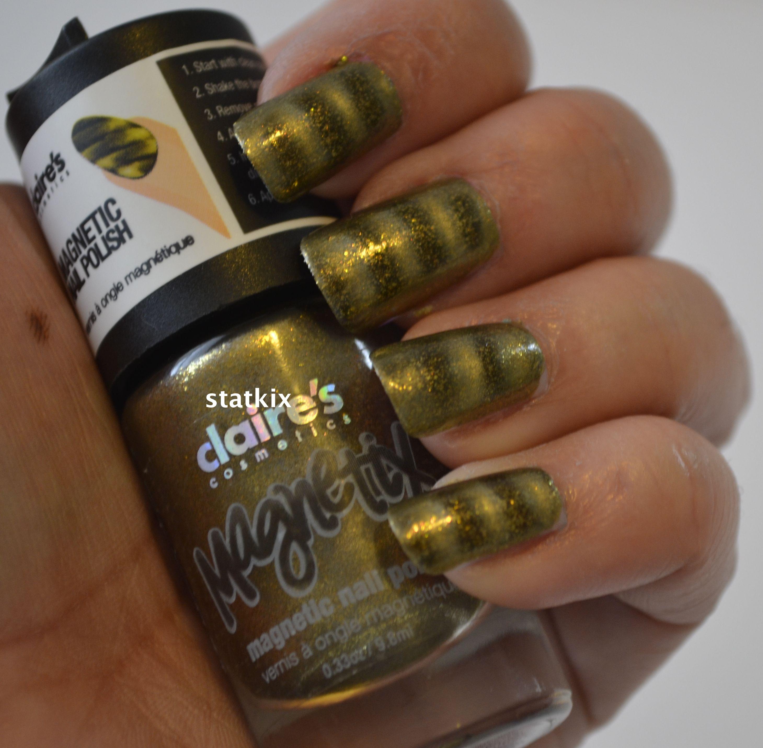 Claires Magnetic Nail Polish   NAILS - NAIL POLISH - ESMALTES ...