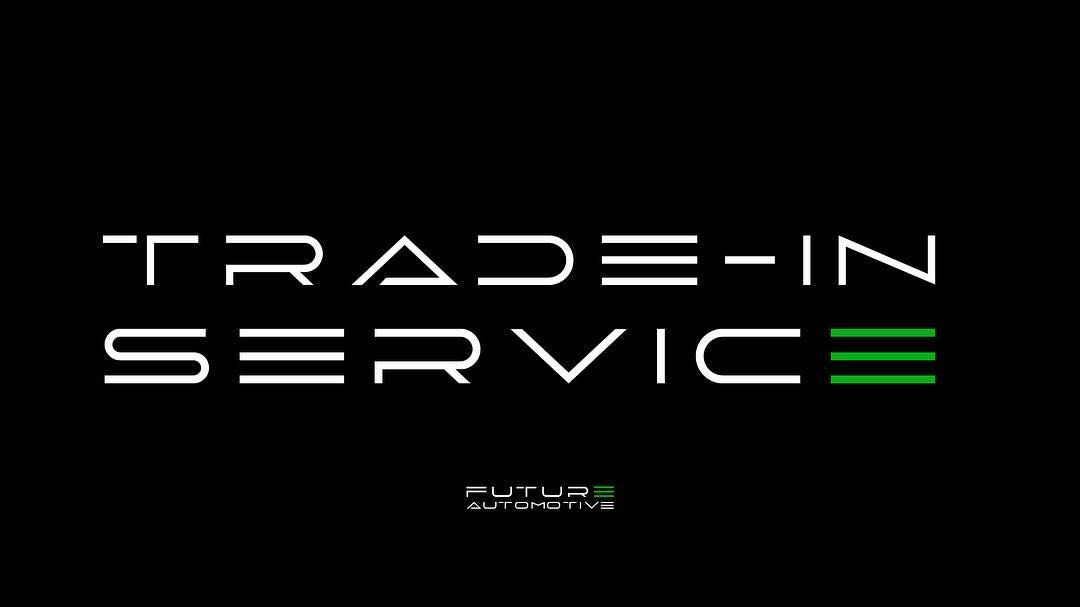 Have we mentioned that we do trade-ins? Not only can you trade-in ...