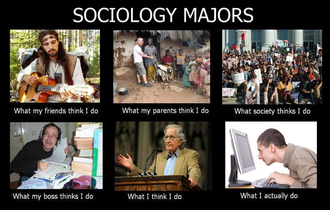 Image 253095 What People Think I Do What I Really Do Sociology Major Sociology Sociology Careers