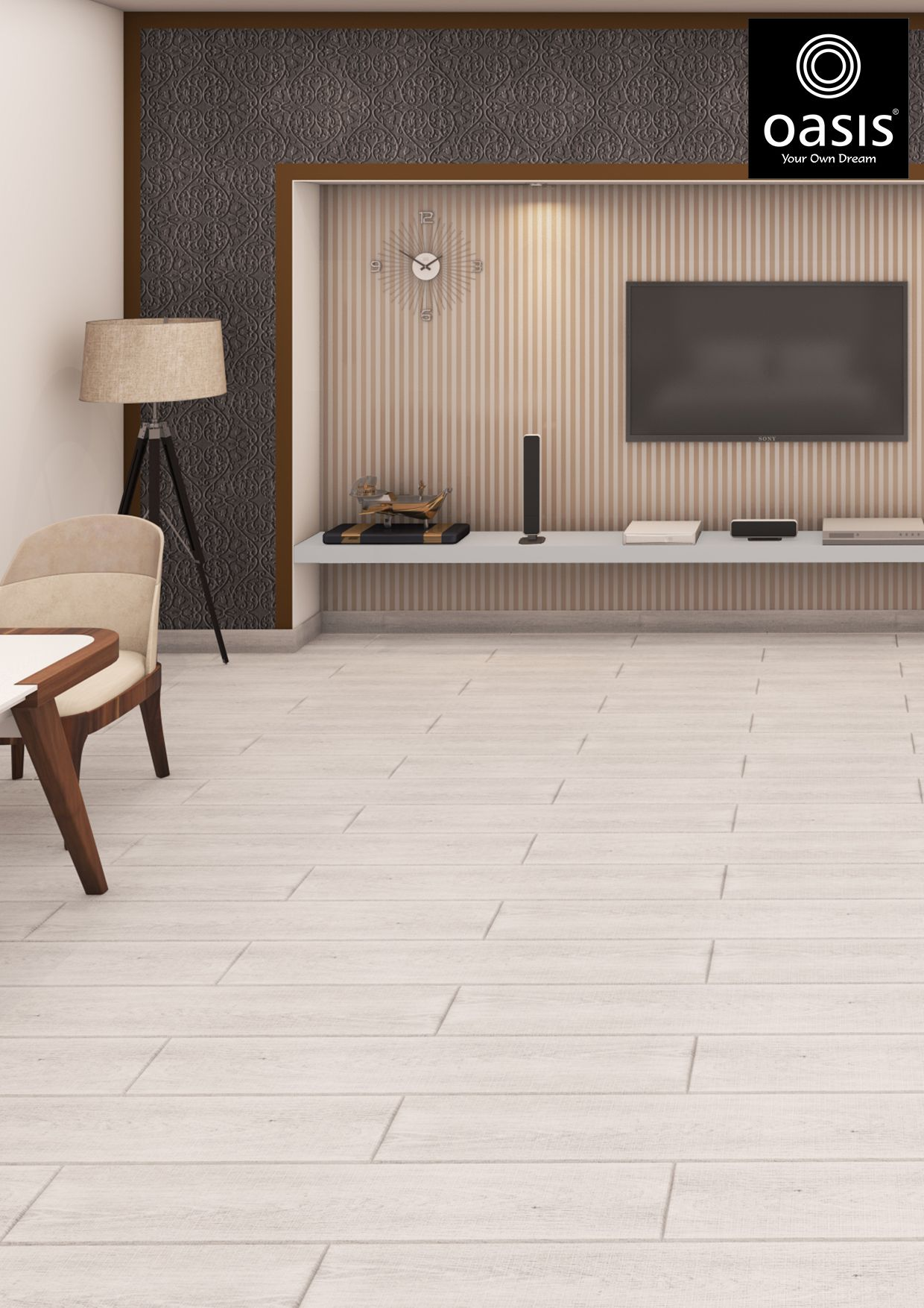 Pin By Oasis Tiles India On Best Floor Tiles For Living Room