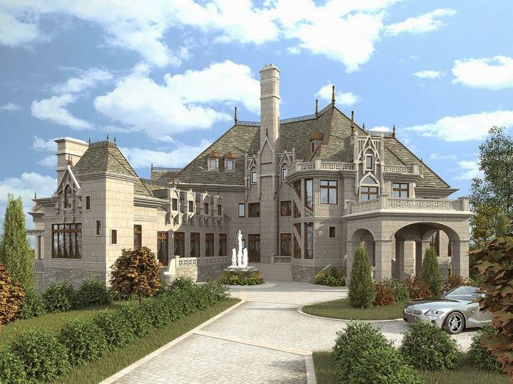 castle style mansion  Google Search House Plans Ideas for the