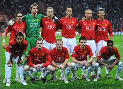 United S Side That Lined Up Against Chelsea In The First Ever All English Manchester United Team Manchester United Champions League Manchester United Champions