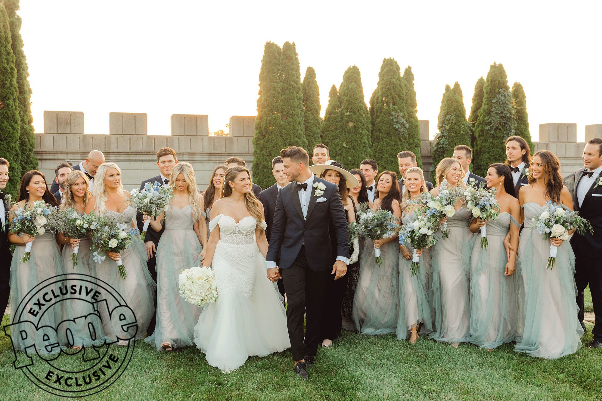 Vanderpump Rules Jax Taylor Marries Brittany Cartwright Inside Their Fairy Tale Wedding Gorgeous Bridesmaid Dresses Beautiful Wedding Photos Bridesmaid