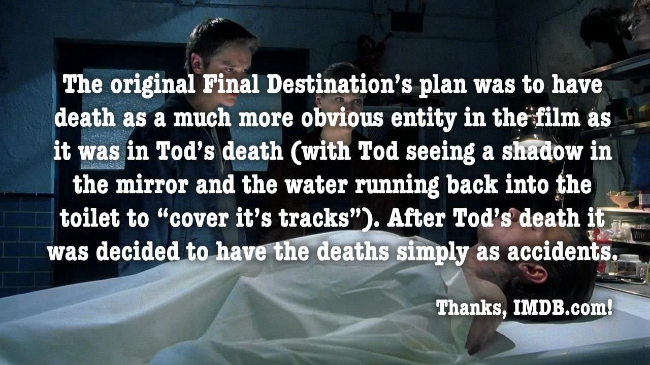 Do You Know That The Chinese Title Of Final Destination Movie Translates As