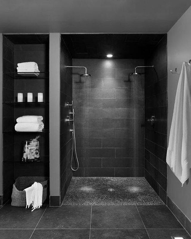 Makeover House Ideas Pinterest Dark Gray Bathroom Grey Bathrooms And