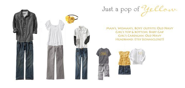 WHAT TO WEAR-yellow =)