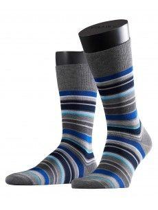 Irregular Stripe Men's Socks - Falke