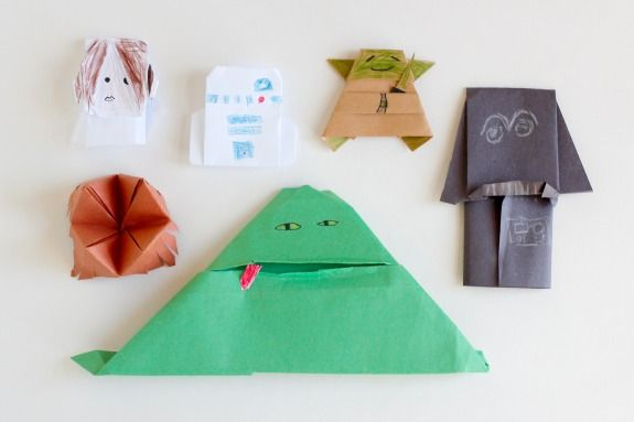 Book Review The Origami Yoda Series Origami Yoda Star Wars