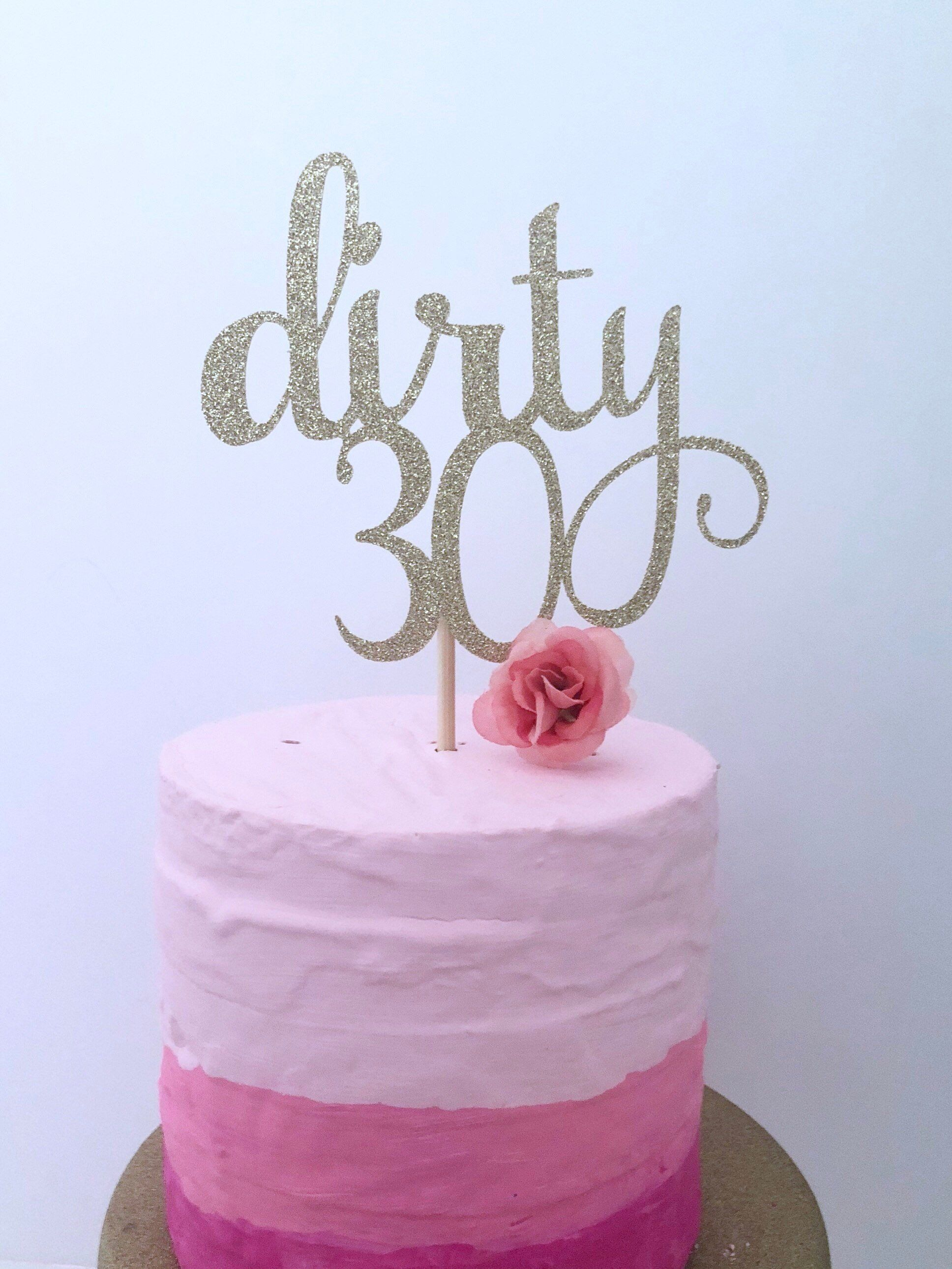 Pin On 30th Birthday Ideas Cake Decor And More