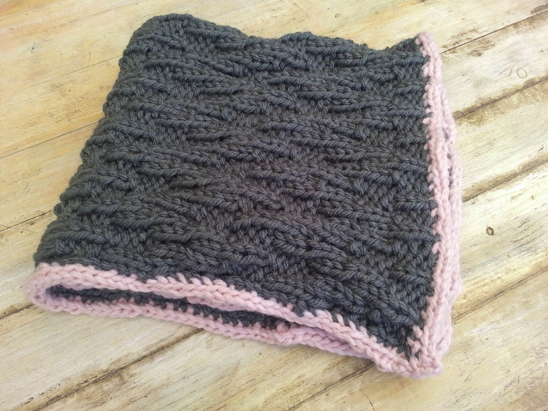 Baby Blanket, Super Chunky Yarn, Chic Chevron Blanket ...
