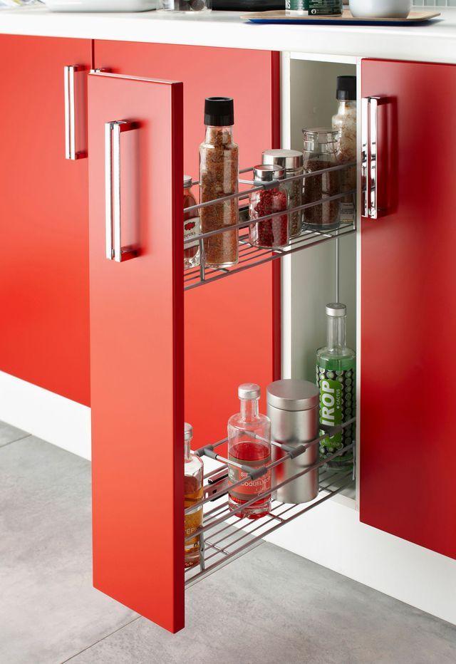 5 id es pour une cuisine maxi rangement meuble cuisine Amenagement placard cuisine coulissant