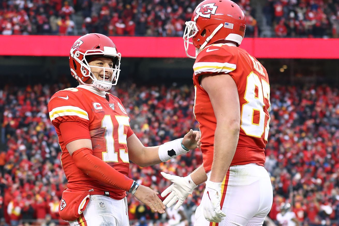 Final Score Chiefs Defeat Texans 51 31 Now One Win From Super Bowl In 2020 Nfl History Nfl Fans Kansas City Chiefs