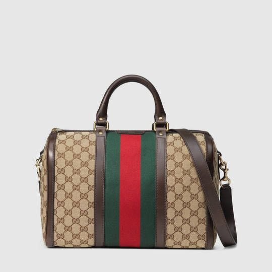a635c52f9 Gucci Vintage Web Original GG boston bag | Accessories | Gucci ...
