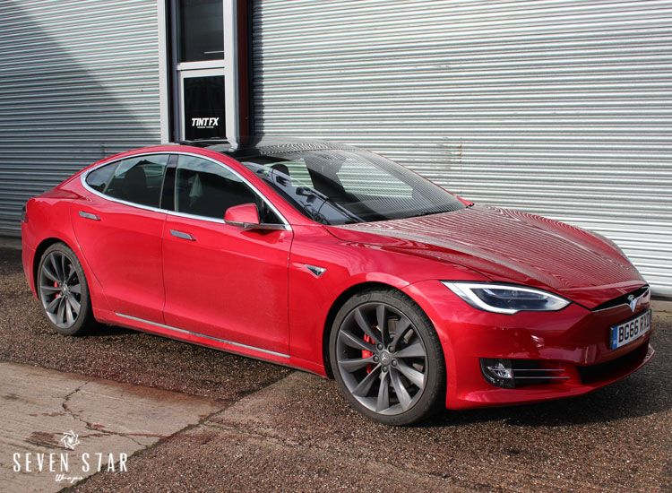 Ssw Seven Star Wraps Vehicle Wrap Wrapping Cost Price Vinyl Paint Protection Film Uk Westmidlands Lye Cradley Birming Tesla Model S Paint Protection Protection