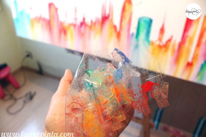 Cuadros modernos decorativos pintados a mano 100% personalizados de ...