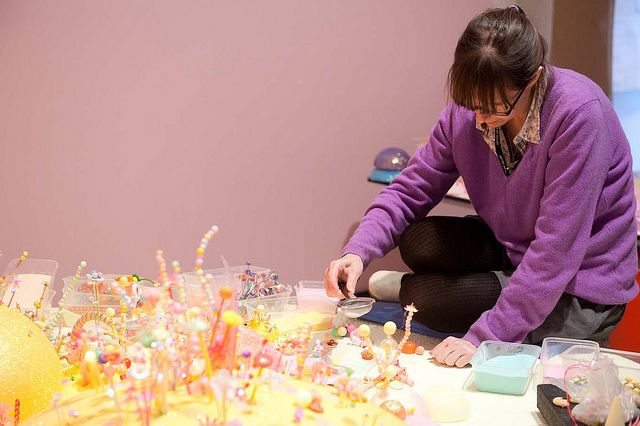 Installation of 'we miss you magic land!'   Flickr - Photo Sharing!