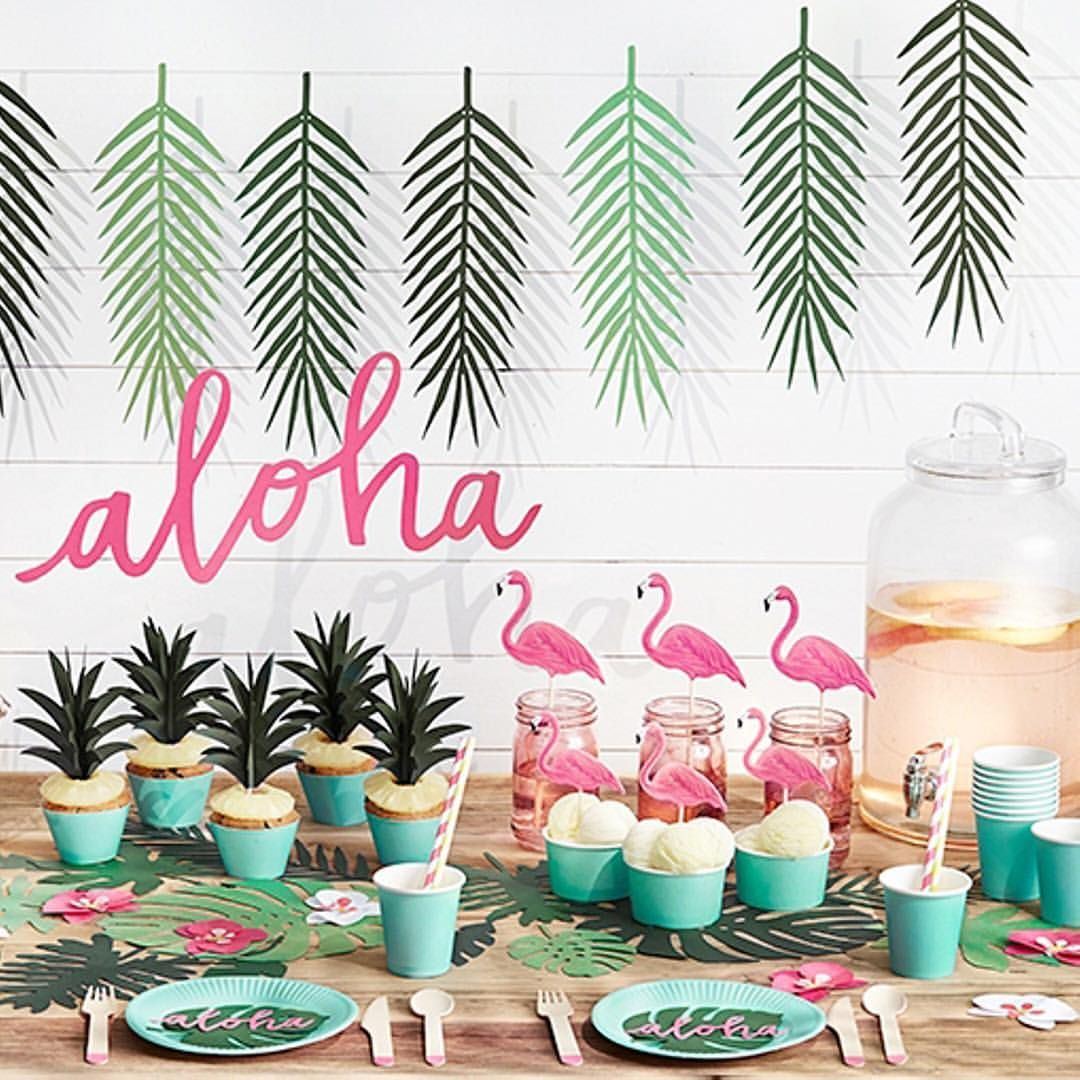 Aloha bridal shower ideas | Candy Bars/Deco | Pinterest | Tropical ...