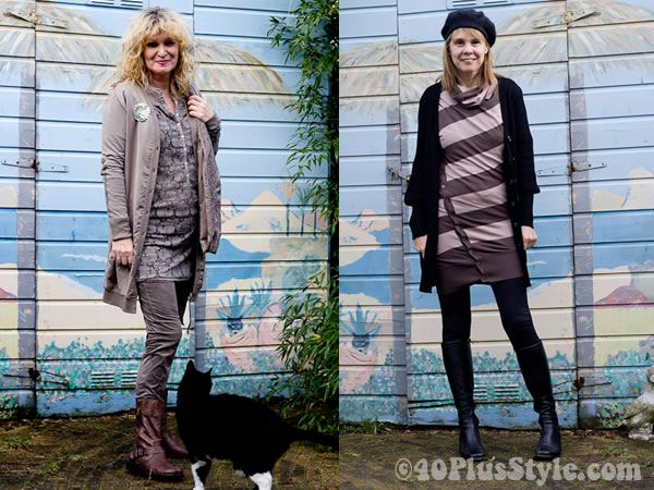 How to wear leggings over 40 - leggings with long tops and ...