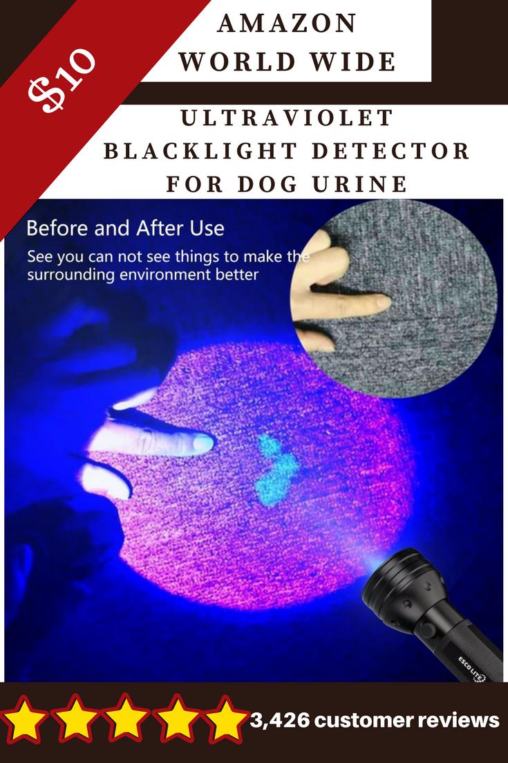 Uv Flashlight Black Light Led Ultraviolet Blacklight Detector For