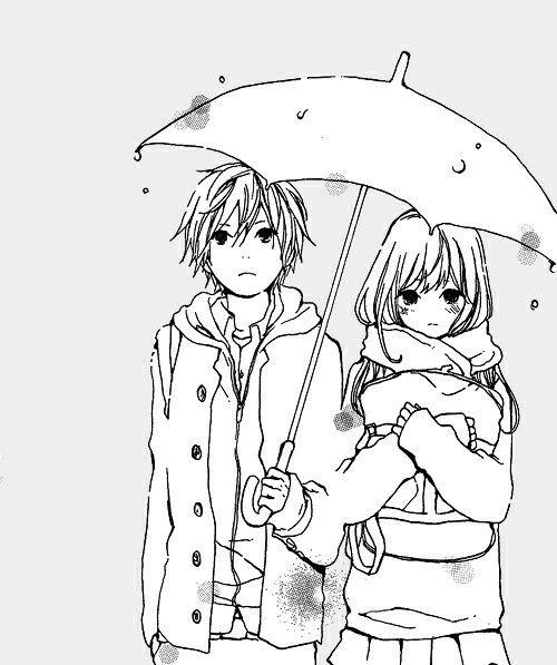 55 Beautiful Anime Drawings Cute Couples Pinterest Anime
