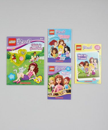 Lego friends paperback set by lego zulily zulilyfinds lego friends stuff pinterest - Casa de olivia lego friends el corte ingles ...