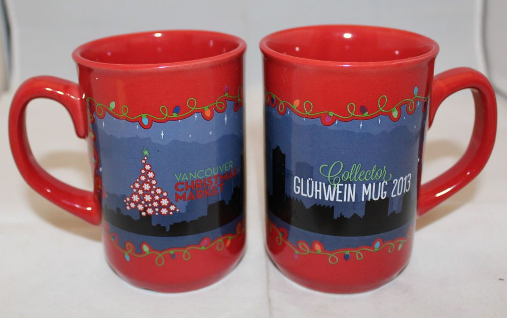 Vancouver Christmas Market Mug.Vancouver Christmas Market 2 Coffee Tea Mug Cups Canada