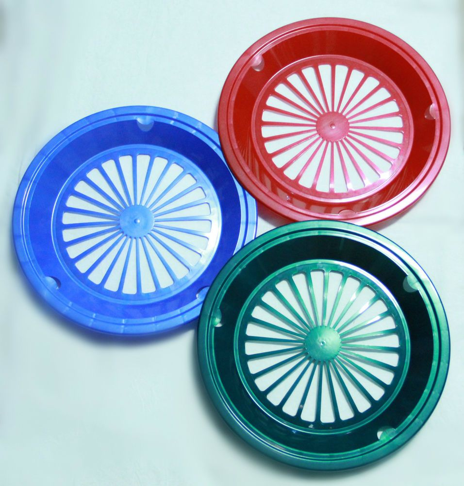 6 GREEN RED and BLUE PAPER PLATE HOLDERS PICNIC BBQ PARTIES  sc 1 st  Pinterest & 6 GREEN RED and BLUE PAPER PLATE HOLDERS PICNIC BBQ PARTIES ...