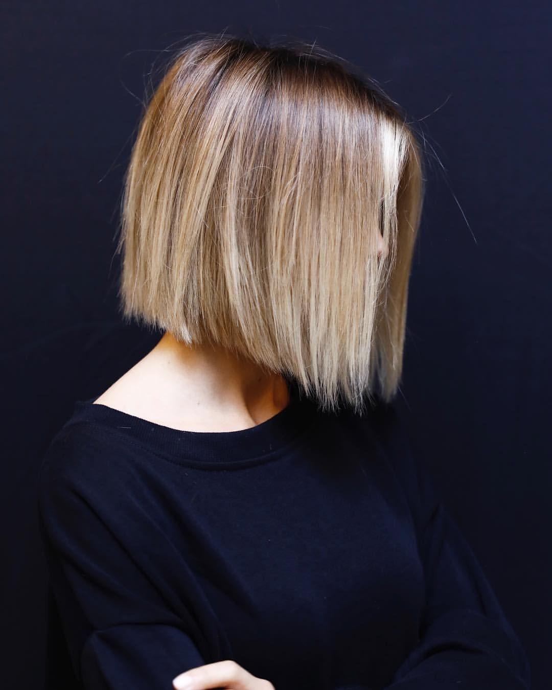 soft.BLUNT #softundercut #haircut #losangeles #anhcotran