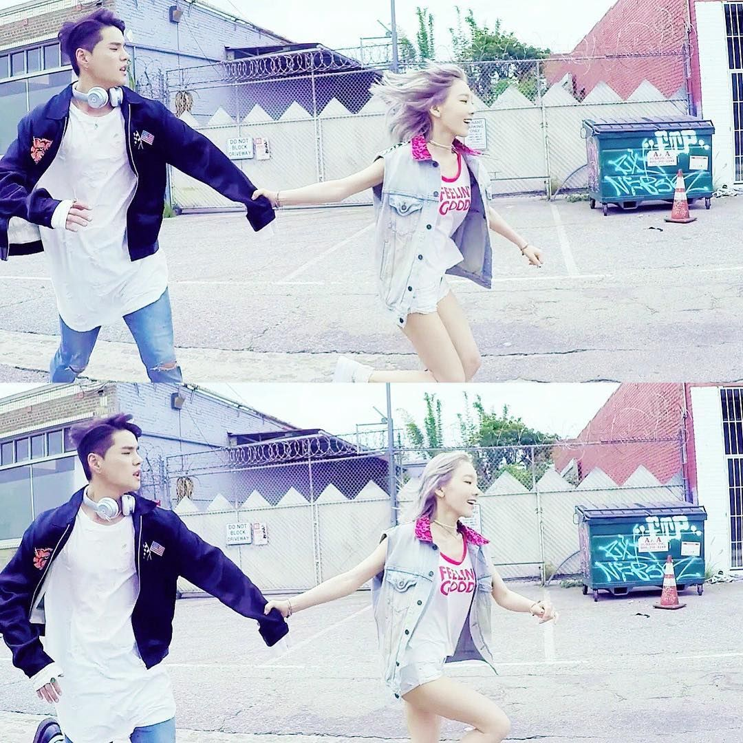 Taeyeon and Dean