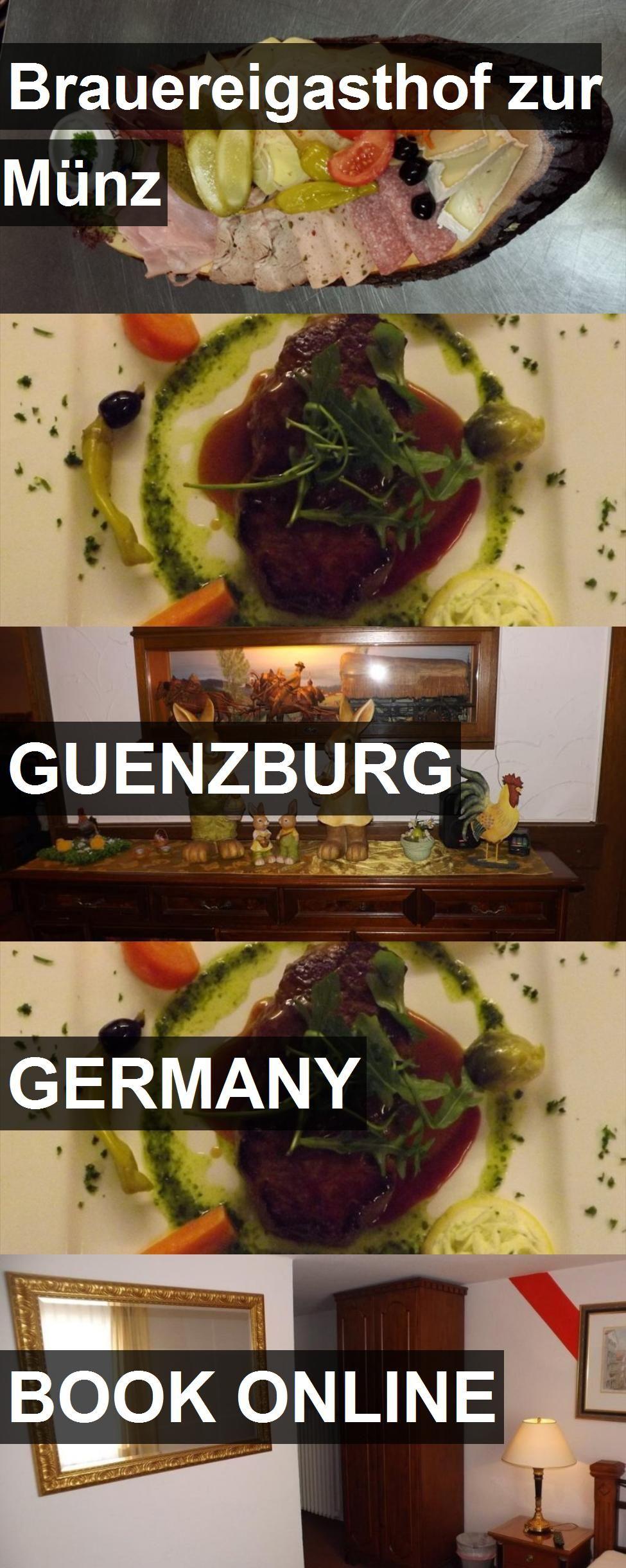 Hotel Brauereigasthof Zur Münz In Guenzburg Germany For More