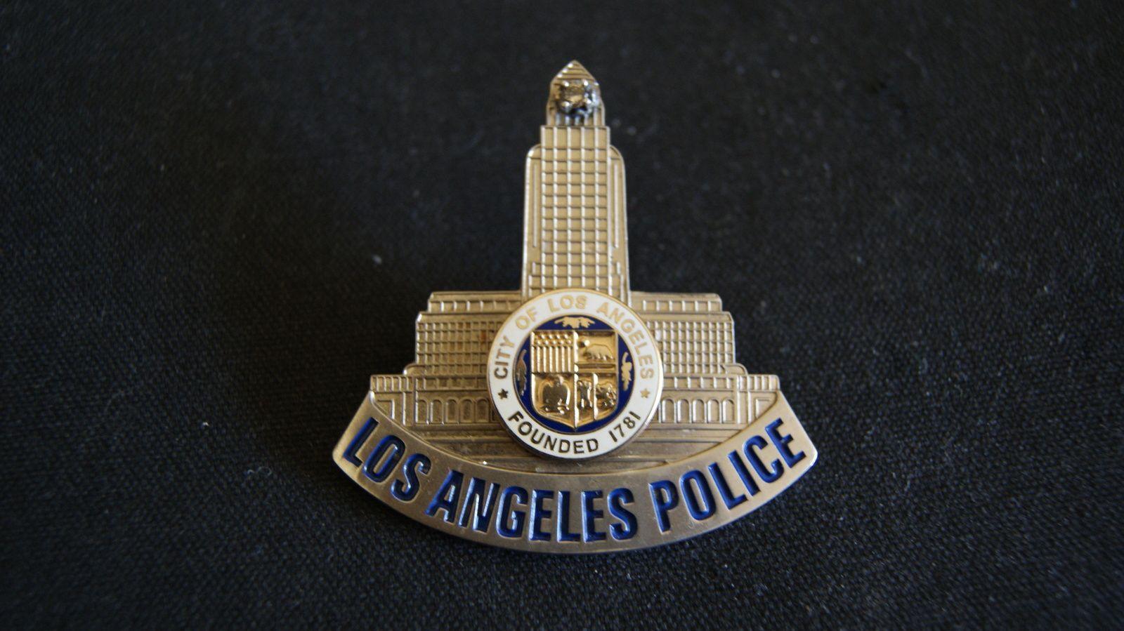 Los Angeles Police Badge Panel Los Angeles City Hall Police Badge Police Badge