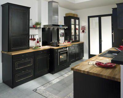 cuisine bistrot de lapeyre d co pinterest cuisine bistrot lapeyre et cuisines. Black Bedroom Furniture Sets. Home Design Ideas