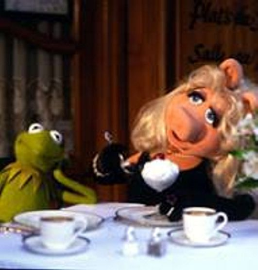 "1000th Post Weekly Muppet Wednesdays Miss Piggy: ""Would You Like #tea, Ker-mee?"" ActuallyI'm A Coffee"