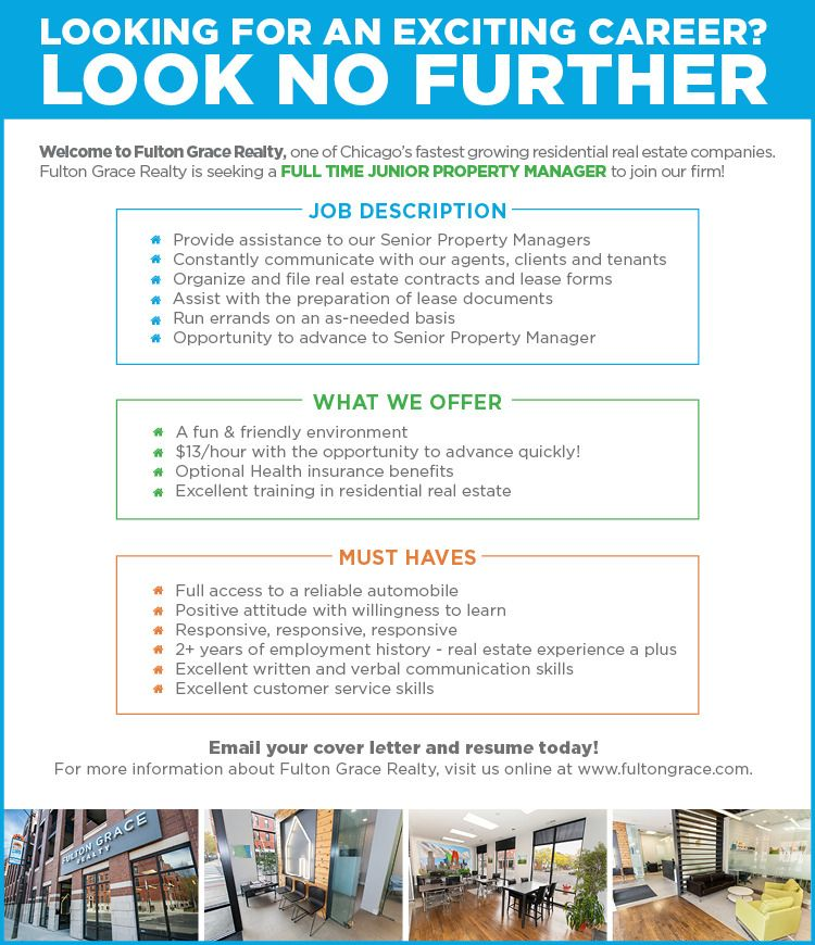 Assistant Property Manager, Growing Company, Excellent Career!