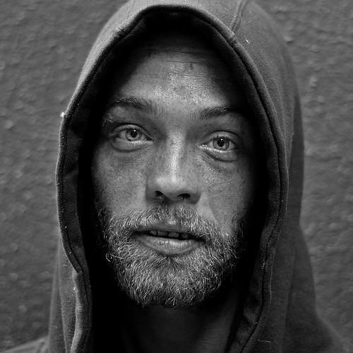 "homeless series by tom stone - absolutely moving. // this picture of brian ""free love"" digs at me. his eyes are unreal."