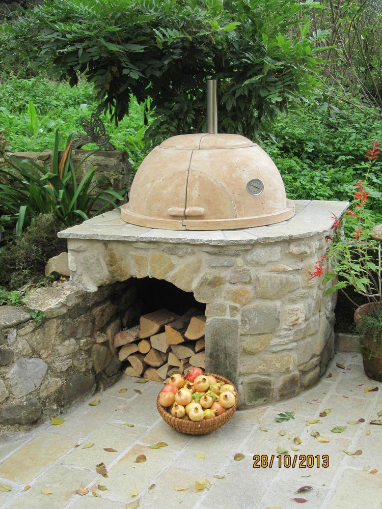 holzbackofen pizzaofen steinbackofen grill kochherd multifunktion holzback r ucher. Black Bedroom Furniture Sets. Home Design Ideas