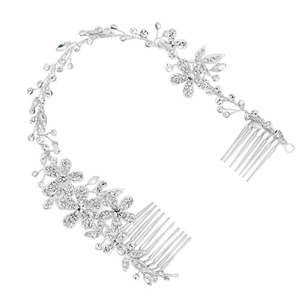 alan hannah devoted designer crystal flower wrap around double