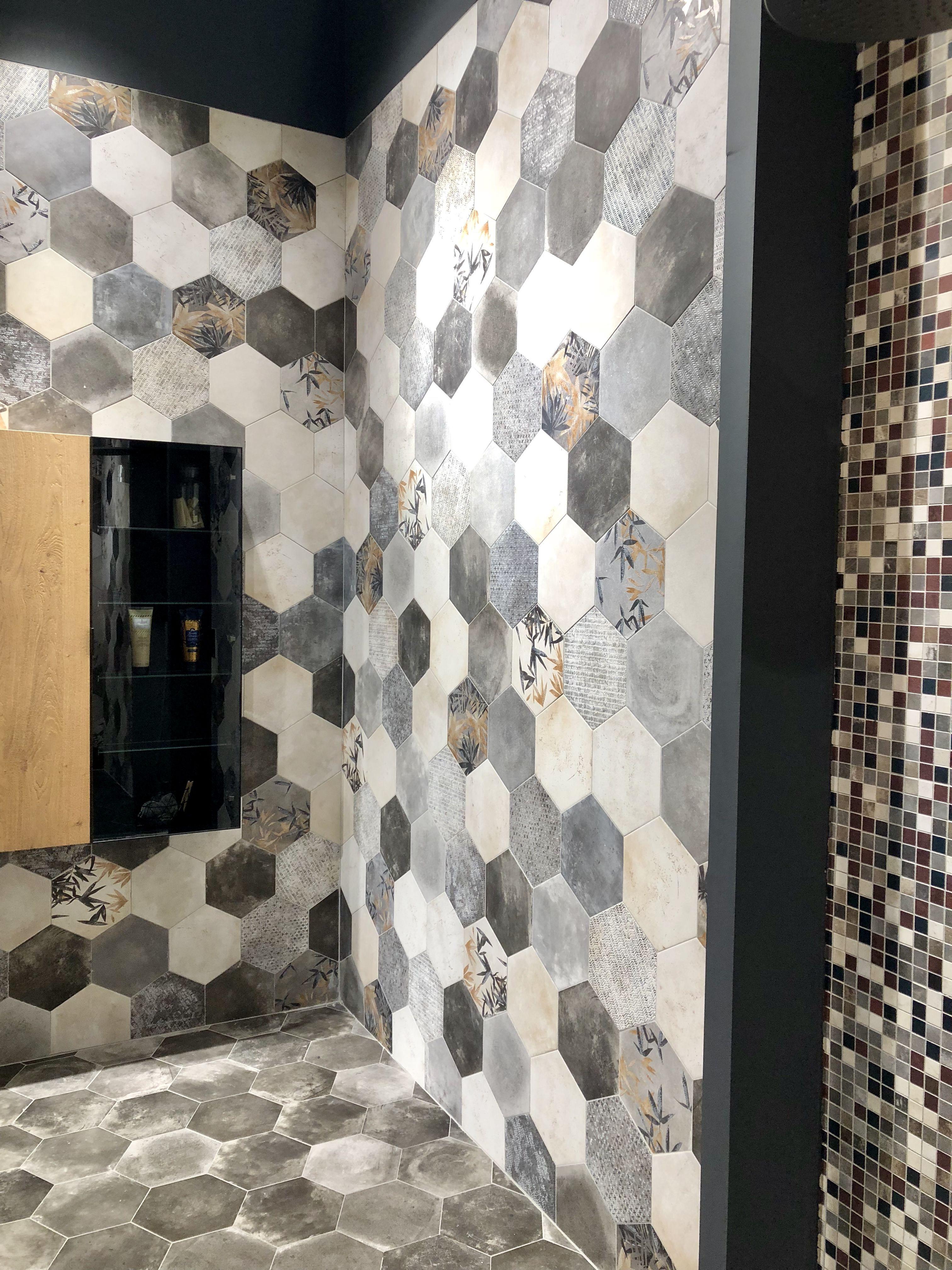 Carrelage Hexagonale Cir Nouveaute Pour 2019 Au Salon Cersaie A