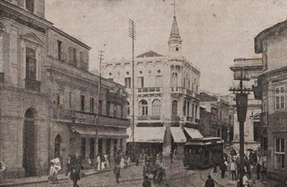 Centro de São Paulo em 1908.