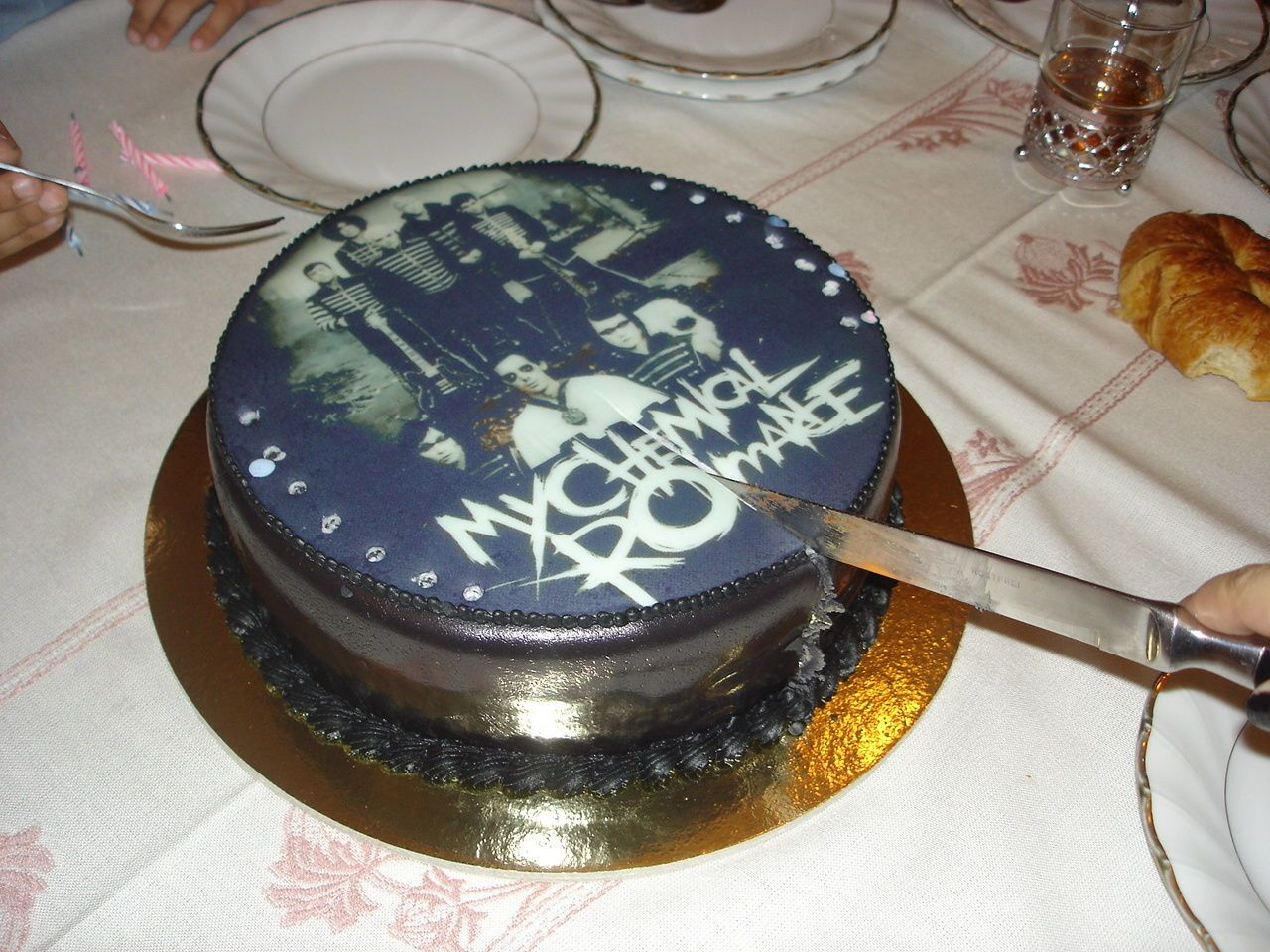 My Chemical Romance Cake - Molly would freak out if she got this for her birthday