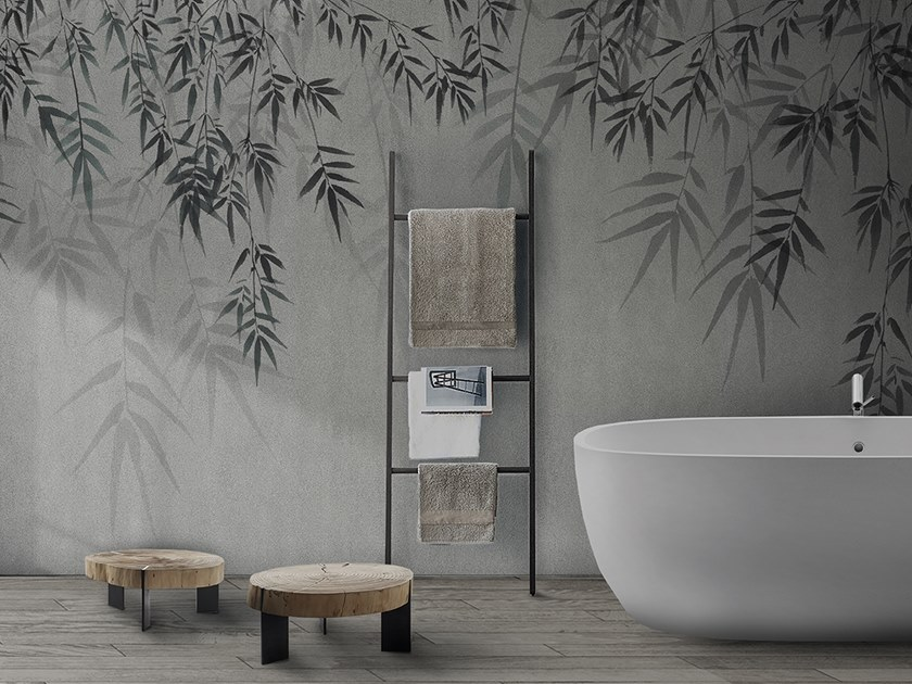 Download The Catalogue And Request Prices Of Concrete Bamboo Leaf By N O W Edizioni Vinyl Or Fyber Glass Wall Coverings Coastal Style Furniture Bamboo Leaves