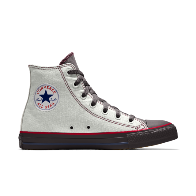 converse custom chuck taylor all star rose embroidery high top