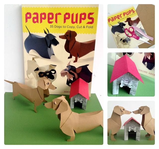 *Rook No. 17: recipes, crafts & whimsies for spreading joy*: Paper Pups: The Ultimate Craft Book for Dog Lovers {REVIEW & GIVEAWAY}