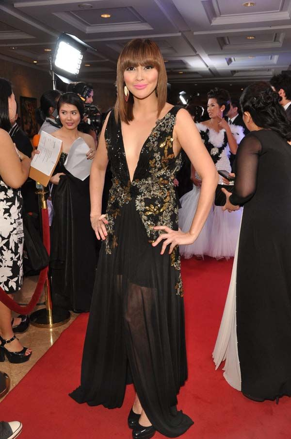 Cesca Litton at the Star Magic Ball. Photo by Nimfa Chua for ABS ...