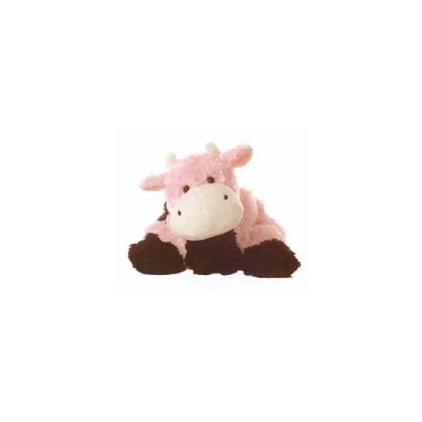 Amazon Com Stuffed Blush Pink Cow Toys Games Found On Polyvore