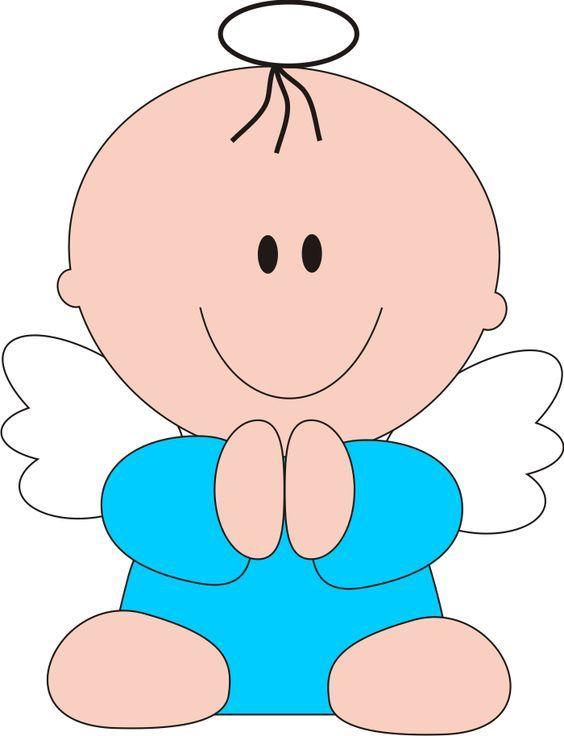 72d7b2be7 Resultado de imagen para angelitos caricatura | bautizo | Angeles ...