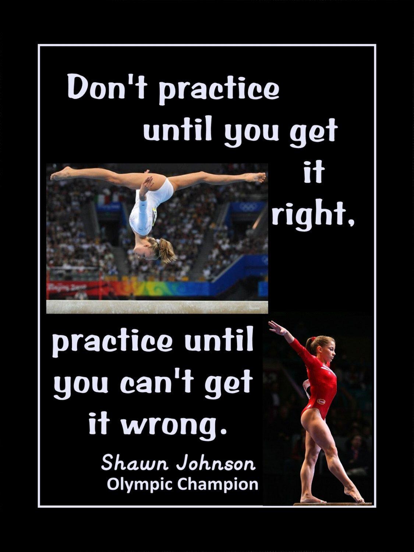 Gymnastics Poster Shawn Johnson Olympic Gymnast Photo